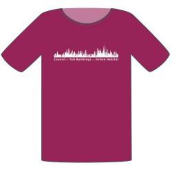 CTBUH T-Shirt – Fuchsia