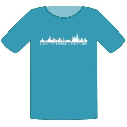 CTBUH T-Shirt – Teal